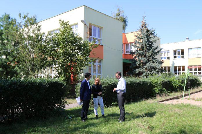 Ilustracja. Pomysł na nową lokalizację WTZ Piaseczno w budynku SP nr 5