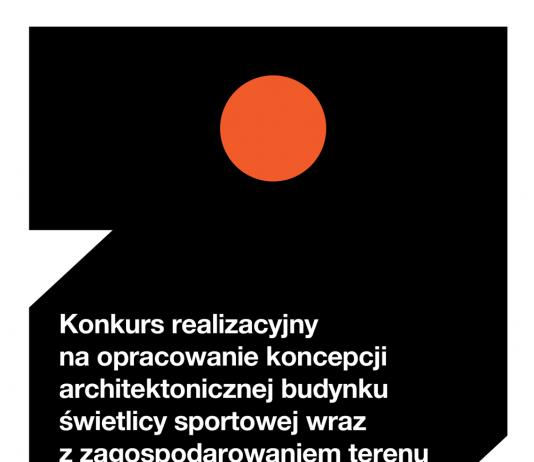Ilustracja. Ogłoszenie wyników konkursu architektonicznego na budynek świetlicy sportowej w Żabieńcu