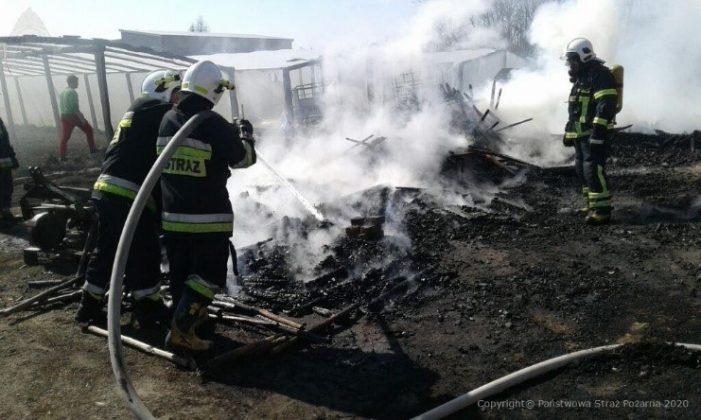 Ilustracja. Działania strażaków podczas pożarów oraz innych miejscowych zagrożeń