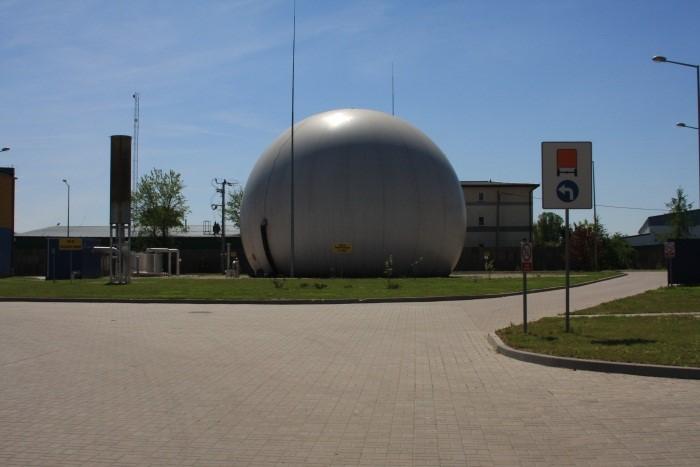 Zbiornik biogazu, foto archiwum PWiK Piaseczno