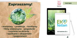 Ekologiczny Festiwal Online EKOfeston z okazji Dnia Ziemi