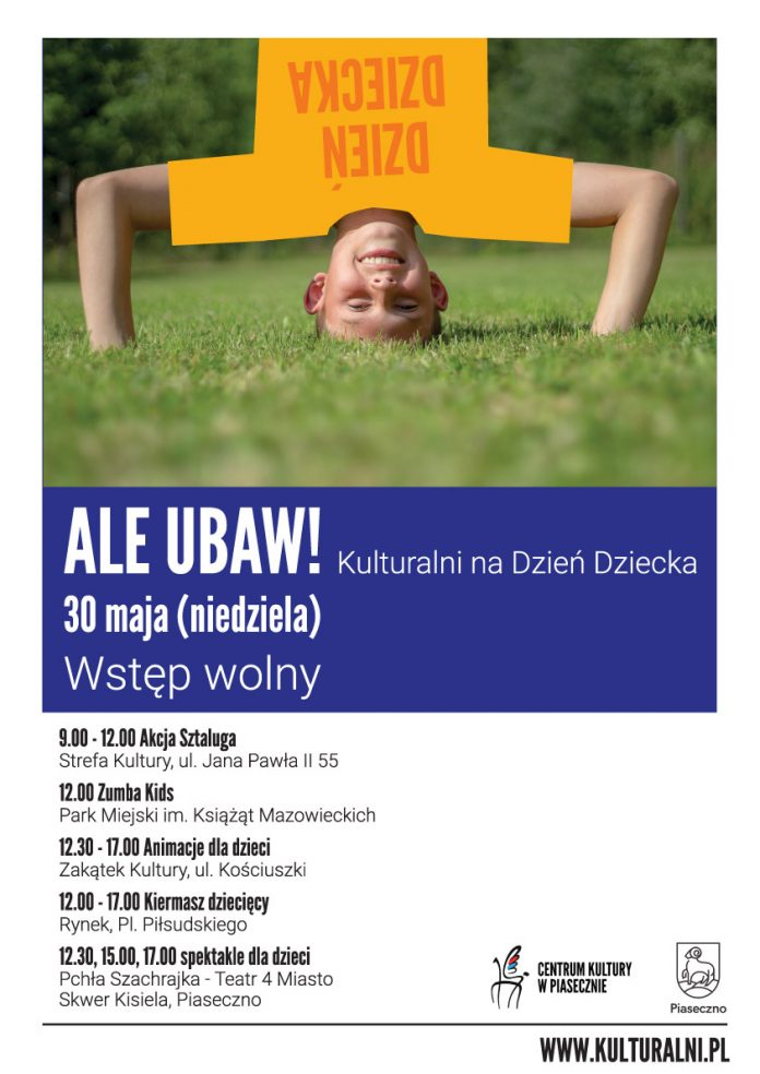 ALE UBAW-plakat imprezy na Dzień Dziecka 2021