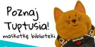 Poznaj Tuptusia - maskotkę Biblioteki