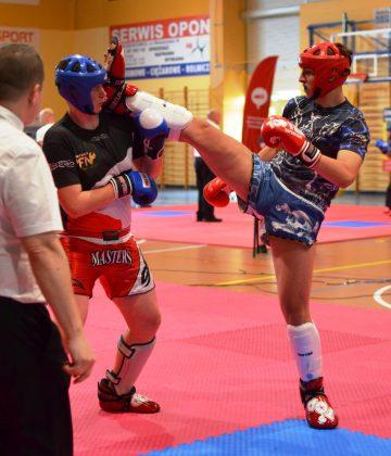 Ilustracja. Mistrzostwa Polski w Kickboxingu Kadetów w formule Kick Light i Juniorów w formule Light contact