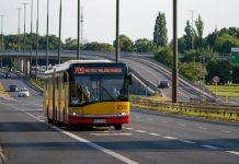 Autobus 709 na ul. Puławskiej w Warszawie, foto: Zarząd Dróg Miejskich Warszawa