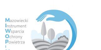 Logo MIWOPiM Mazowieckiego Instrumentu Wsparcia Ochrony Powietrza i Mikroklimatu MAZOWSZE
