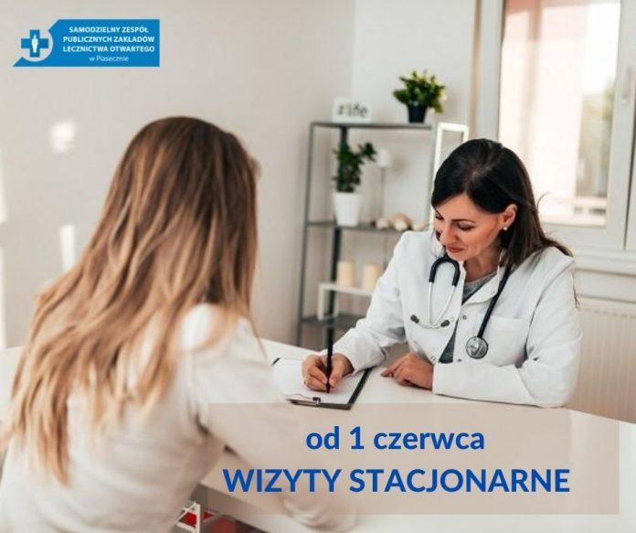 Ilustracja Wracają stacjonarne wizyt w SZPZLO Piaseczno