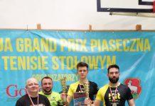 Grand Prix Piaseczna w tenisie stołowym - 253 uczestników / Relacja z zawodów