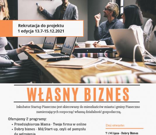 Własny biznes - rusza nabór do projektów Centrum Przedsiębiorczości w Piasecznie