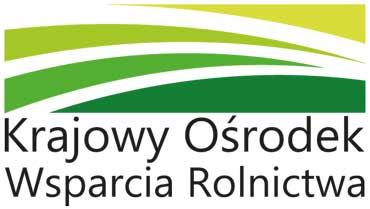 logo Krajowego Ośrodka Wsparcia Rolnictwa