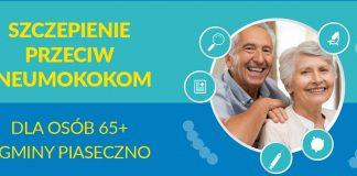 Ilustracja Szczepienia przeciw pneumokokom dla osób 65+ z terenu gminy Piaseczno