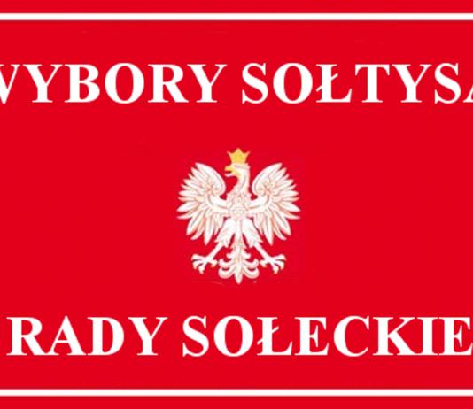Tabliczka wybory Sołtysa i Rady Sołeckiej