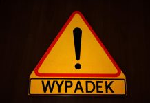 symbol znaku drogowego wypadku