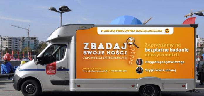 Osteobus odwiedzi Piaseczno