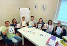 Akademia Rodziny - bezpłatne rodzinne spotkania. Na zdjęciu pracownicy MGOPS Piaseczno.