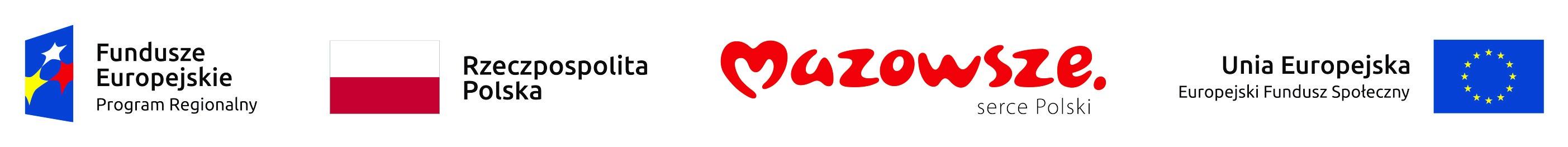 Logotypy - pozyskane dofinansowanie dla Szkoły Podstawowej nr 5 w Piasecznie