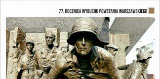 Plakat wydarzenia 77. Rocznica Wybuchu Powstania Warszawskiego