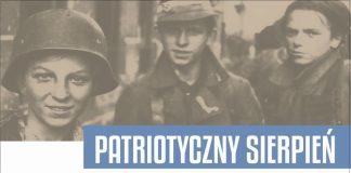 Plakat wydarzeń PATRIOTYCZNY SIERPIEŃ - uroczystości patriotyczne w sierpniu 2021