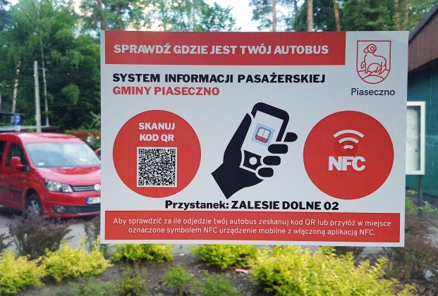 System informacji pasażerskiej w gminie Piaseczno, sprawdź za ile odjedzie Twój autobus