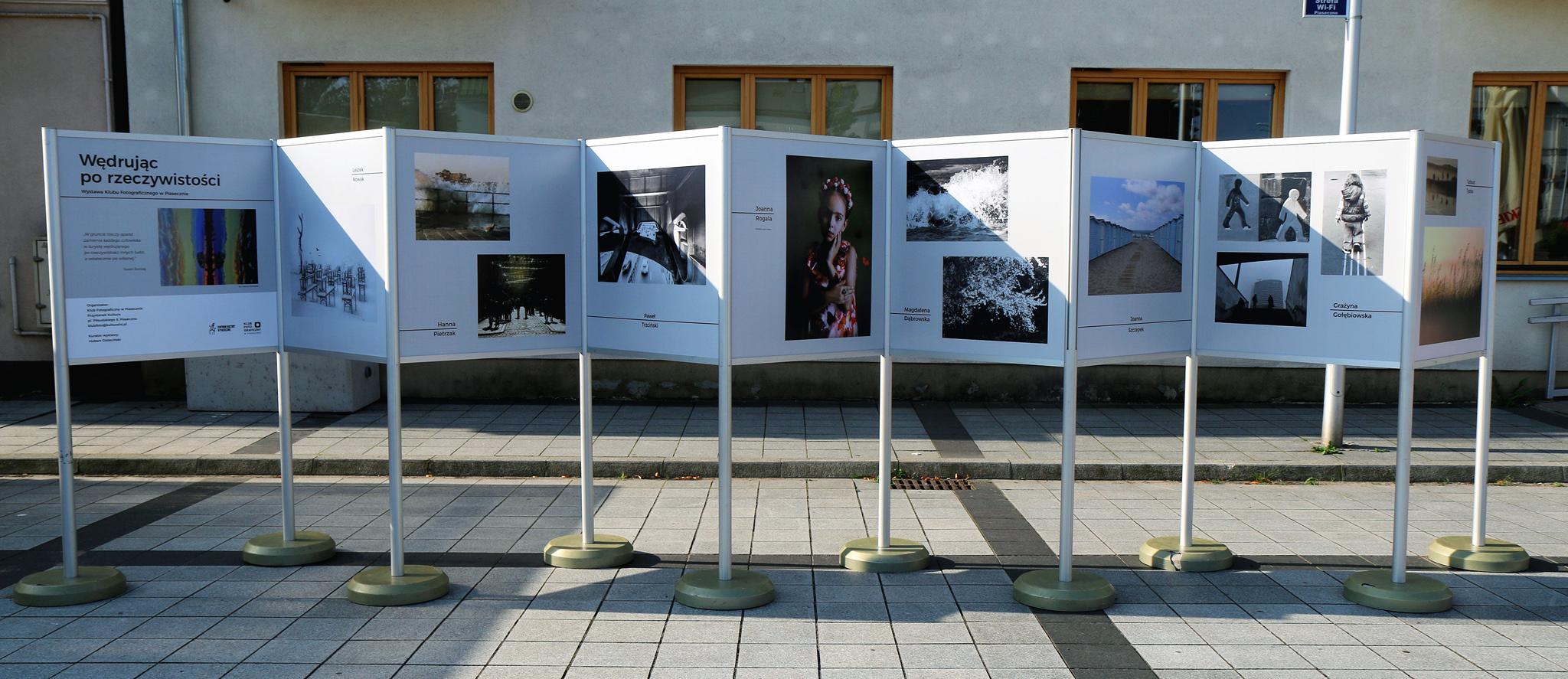Ilustracja. Wędrując po rzeczywistości - wystawa fotograficzna członków Klubu Fotograficznego w Piasecznie