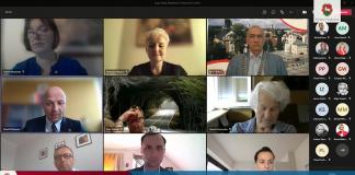 Screen XL sesja online Rady Miejskiej w Piasecznie