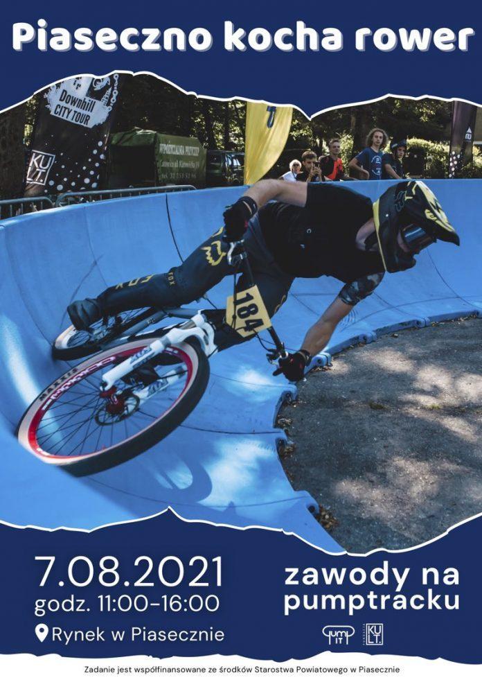 Ilustracja. Piaseczno kocha rower
