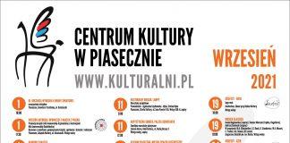Plakat zbiorczy Kulturalny wrzesień 2021