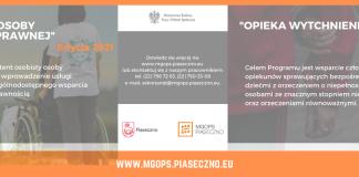 Nowe programy wsparcia MGOPS