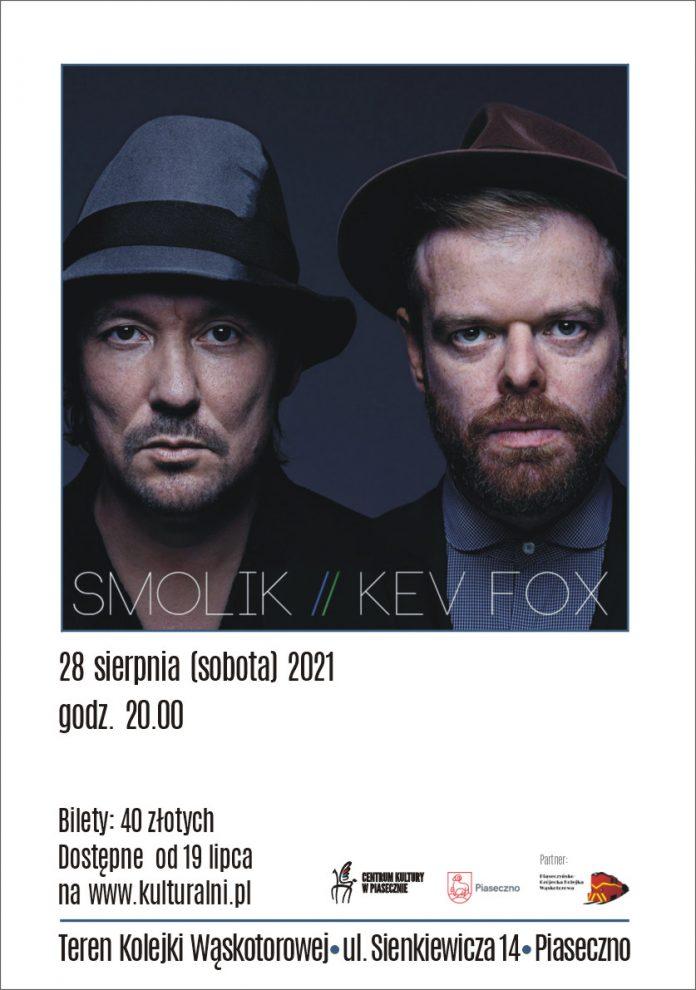 Plakat wydarzenia SMOLIK // KEV FOX koncert w Piasecznie