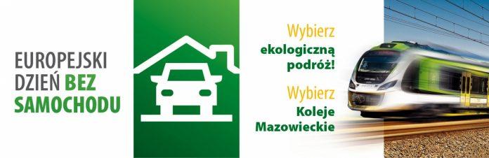 Ilustracja. 22 września Dniem bez Samochodu w Kolejach Mazowieckich