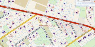 Zrzut ekranu dz. 282.30 II przetarg ograniczony na sprzedaż nieruchomości gruntowej nr 282/30 o powierzchni 200m2 położonej w Wólce Kozodawskiej