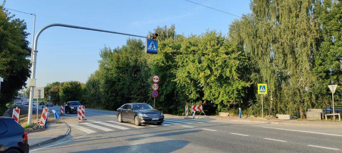 Ilustracja. Będzie bezpieczniej na skrzyżowaniu ulic Żeromskiego i Armii Krajowej. Na zdjęciu skrzyżowanie ulicy Żeromskiego z Armii Krajowej.