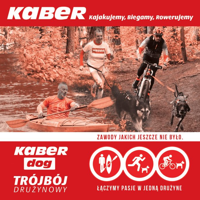 Banner reklamowy KaBeR DOG Trójbój Drużynowy 2021 w Zalesiu Górnym