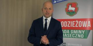 Zrzut ekranu z filmu Wybory do Młodzieżowej Rady Gminy Piaseczno