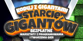 Ilustracja wydarzenia Koduj z Gigantami - bezpłatne warsztaty z programowania.