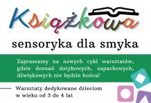 Książkowa sensoryka dla smyka – nowy cykl warsztatów