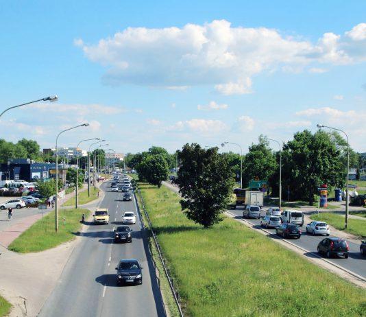 Ilustracja. Rozpoczyna się rozbudowa ul. Puławskiej na odcinku od ul Syrenki do ul. Energetycznej