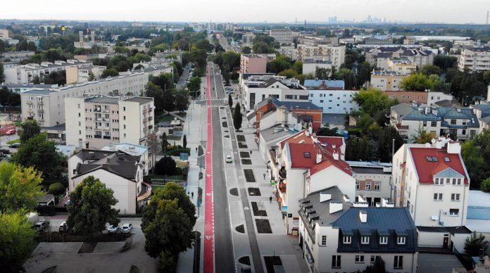 Wyremontowana ulica Puławska została otwarta