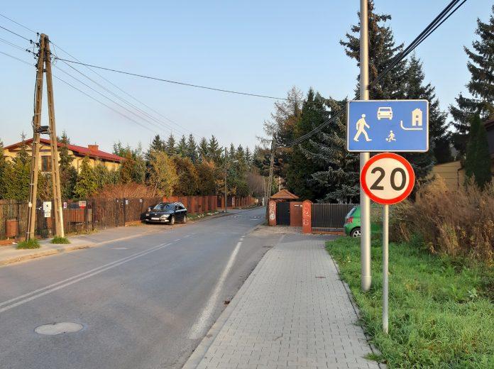 Zamknięcie ulicy Kuropatwy. Na zdjęciu fragment ulicy Kuropatwy w Mysiadle