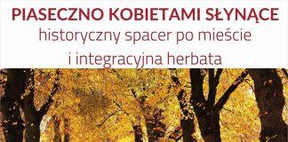 Plakat Piaseczno Kobietami Słynące - historyczny spacer z Dorotą Zając
