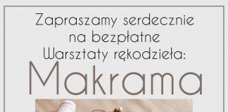 Plakat wydarzenia Warsztaty rękodzieła: Makrama w Złotokłosie